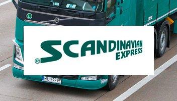Scandinavian Express - logotyp