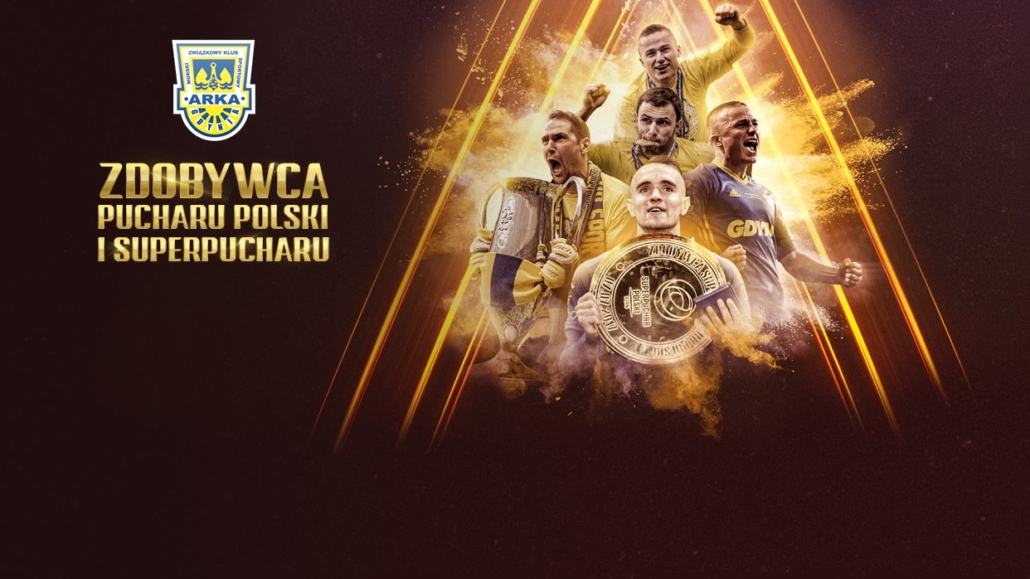 Arka Gdynia SSA zdobywa Superpuchar Polski!
