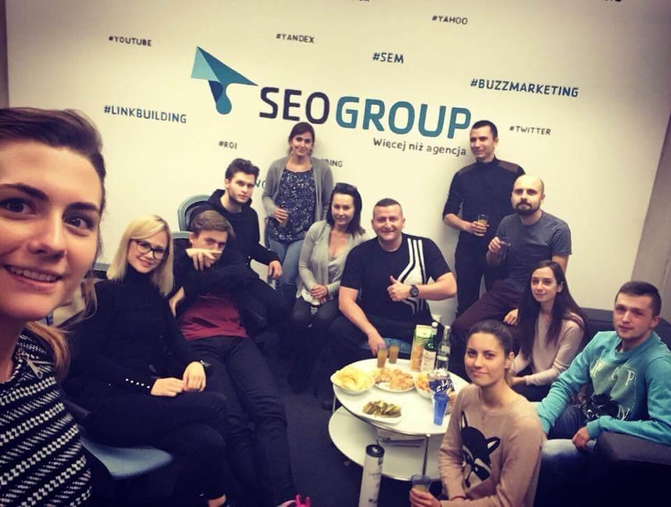 Dream Team SEOgroup po godzinach