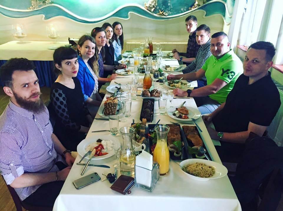 Impreza urodzinowa SEOgroup w gdańskiej restauracji Nautilus
