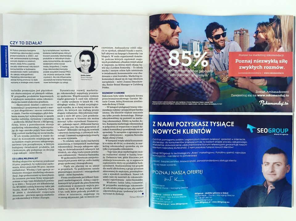 Newsweek Polska - Marketing Rekomendacji