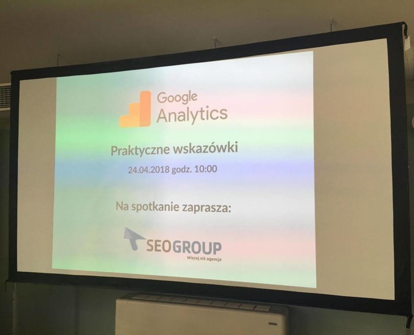 Szkolenie z Google Analytics w Mindspace