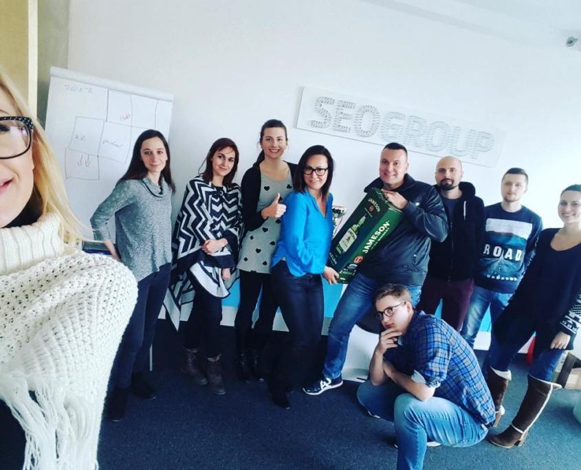 Urodziny Michała Jabłońskiego w SEOgroup