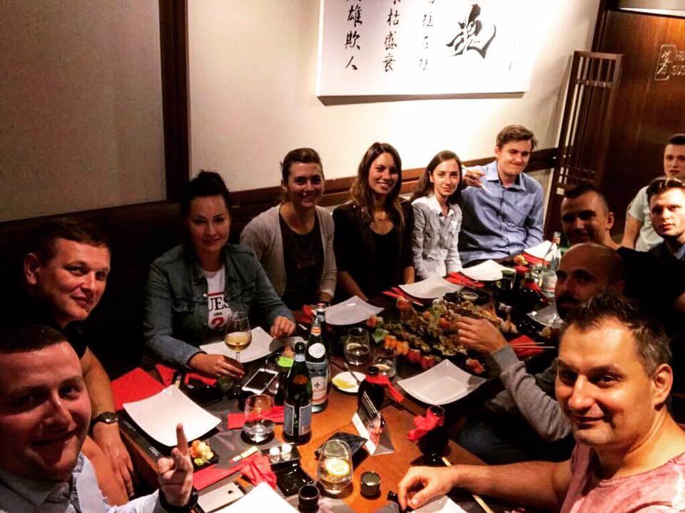Dream Team SEOgroup w Hashi Sushi