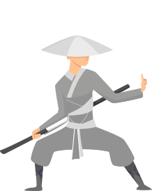 Pracownicy marketingu - samuraj 1